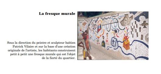 Bois Jalousie La fresque Murale